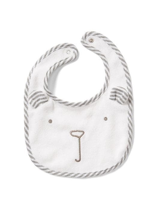 Gap Favorite Bear Bib - White