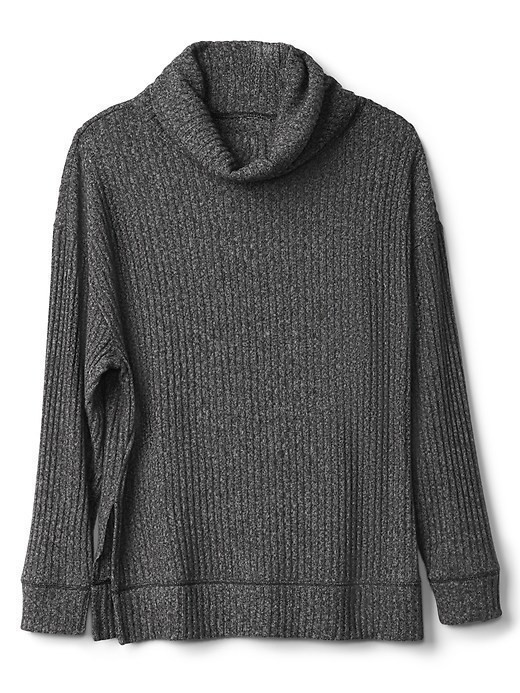 Gap Softspun Funnel Neck Pullover - Charcoal