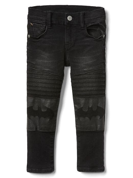 Babygap &#124 Dcâ Batman Moto Slim Jeans - Black wash