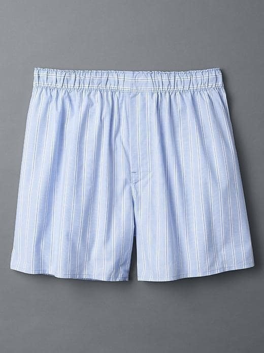 Gap End On End Stripe Boxers - Blue peak