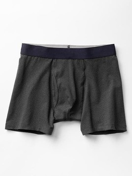 Gap Solid Boxer Briefs - Charcoal grey