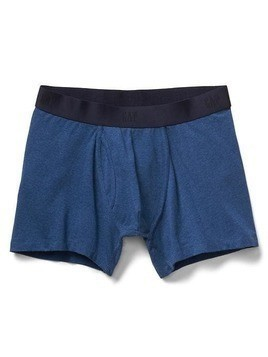Gap Solid Boxer Briefs - Blue heather