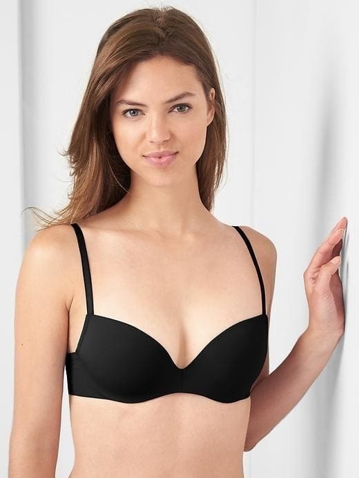 Gap Demi T Shirt Bra - True black