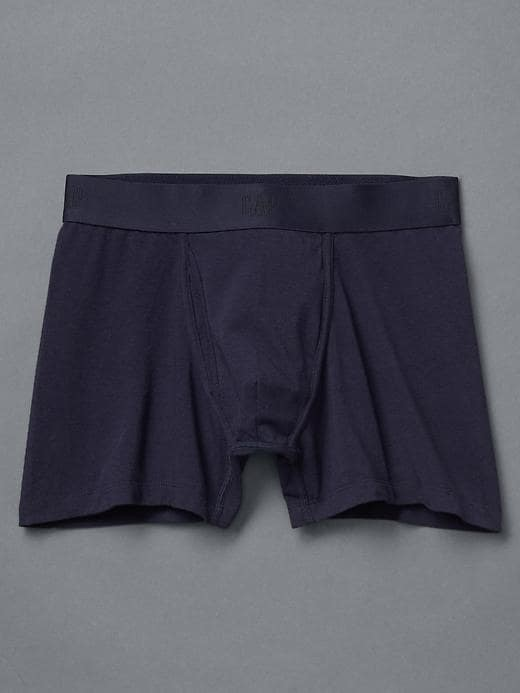 Gap Solid Boxer Briefs - Blue uniform