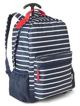 Gap Stripe Roller Backpack - Breton stripe blue
