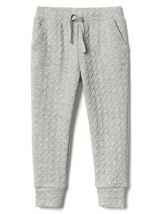 Gap Quilted Jacquard Pants - Light heather grey b08