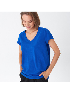 House - T-shirt basic - Granatowy