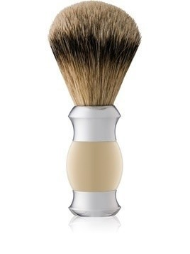 Golddachs Shaving Brush Silver Tip Badger pędzel do golenia z włosiem borsuka 1 szt.