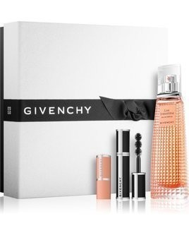 Givenchy Live Irrésistible zestaw upominkowy I. woda perfumowana 50 ml + tusz do rzęs Noir Couture 4 g + balsam do ust Le Rouge Perfecto 1,2 g