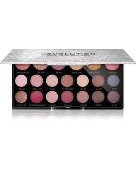 Makeup Revolution Jewel Collection paleta cieni do powiek odcień Opulent 16,9 g