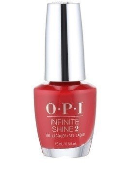 OPI Infinite Shine 2 lakier do paznokci odcień Big Apple Red 15 ml