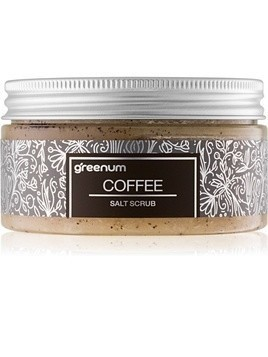 Greenum Salt Scrub peeling solny do ciała z zapachem Coffee 320 g