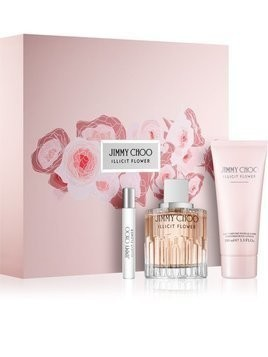 Jimmy Choo Illicit Flower woda toaletowa 100 ml + 7,5 ml + mleczko do ciała 100 ml
