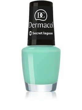 Dermacol Mini Summer Collection lakier do paznokci odcień 08 Secret Lagoon 5 ml