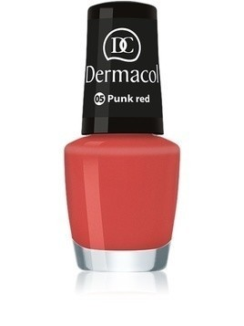 Dermacol Mini Summer Collection lakier do paznokci odcień 05 Punk Red 5 ml