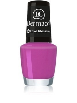 Dermacol Mini Summer Collection lakier do paznokci odcień 06 Love Blossom 5 ml