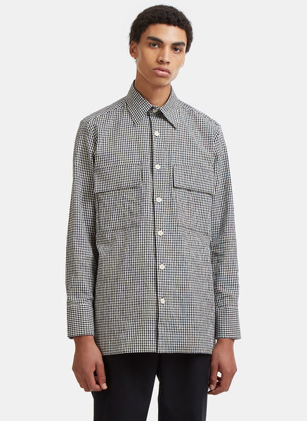 Isaiah Checked Patch Pocket Shirt