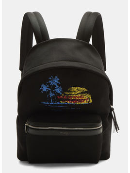 Sunset Print Backpack