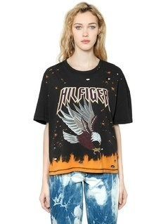EAGLE BLEACHED&RIPPED T-SHIRT