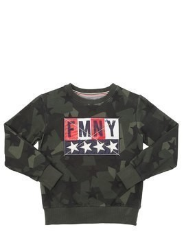 CAMO STARS COTTON SWEATSHIRT
