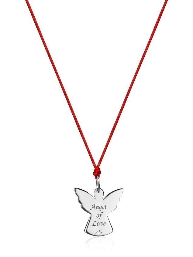 ENGLISH ANGEL OF LOVE NECKLACE