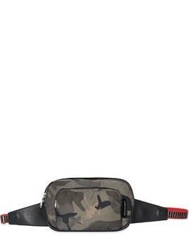DANCING SKELETON CAMO NYLON BELT PACK