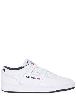 CLUB WORKOUT LEATHER SNEAKERS