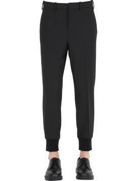EXTRA FINE STRETCH WOOL GABARDINE PANTS