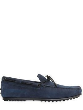 CITY GOMMINO DELAVÈ NUBUCK LOAFERS