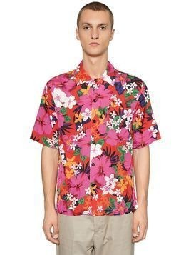FLORAL PRINTED VISCOSE SHIRT