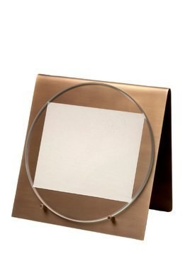 BALANCING MARBLE & BRASS PHOTO FRAME