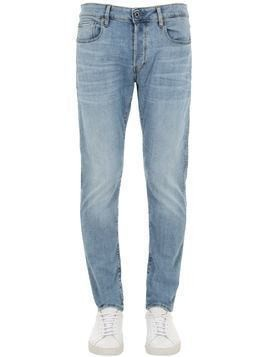 3301 SLIM LIGHT INDIGO DENIM JEANS
