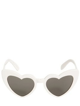 NEW WAVE ACETATE HEART SUNGLASSES