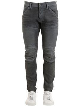 5620 3D SUPER SLIM WASHED DENIM JEANS