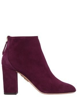 85MM DOWN TOWN SUEDE ANKLE BOOTS