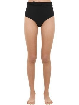 BOW HIGH RISE BIKINI BOTTOMS