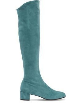 30MM BARBARELLA SUEDE OVER THE KNEE BOOT