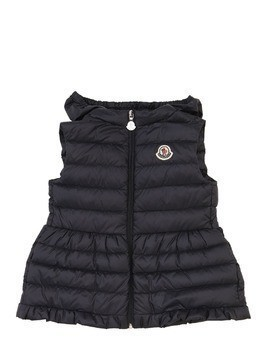 CHERAMETTE HOODED NYLON DOWN VEST