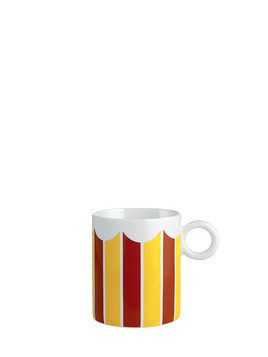 CIRCUS STRIPES BONE CHINA MUG