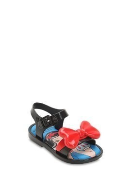 SNOW WHITE RUBBER SANDALS