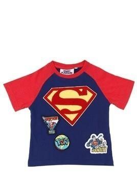 SUPERMAN COTTON JERSEY T-SHIRT