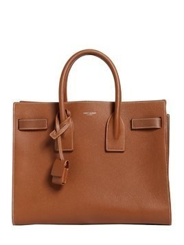 SMALL SAC DU JOUR LEATHER BAG