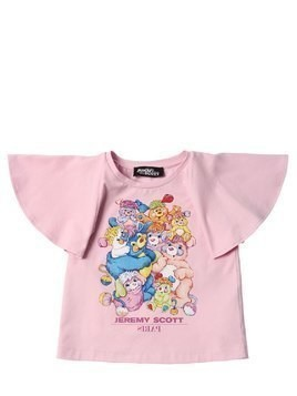 CARE BEARS PRINTED COTTON JERSEY T-SHIRT