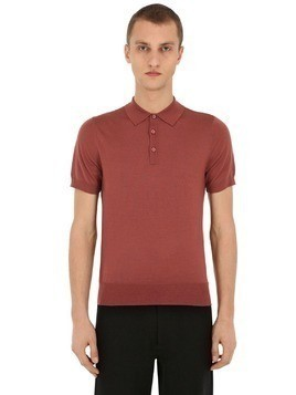 CLASSIC VIRGIN WOOL POLO SHIRT