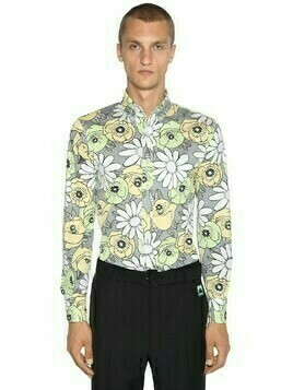 Floral Printed Cotton Shirt