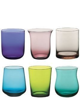 DISEGUALE SET OF 6 TUMBLERS