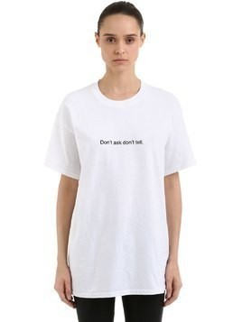 DON'T ASK, DON'T TELL COTTON T-SHIRT