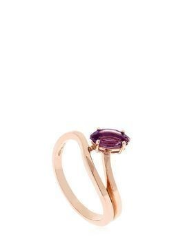 MORNING STAR LILY PRIDE ROSE GOLD RING