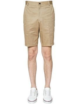 LIGHT COTTON TWILL CHINO SHORTS