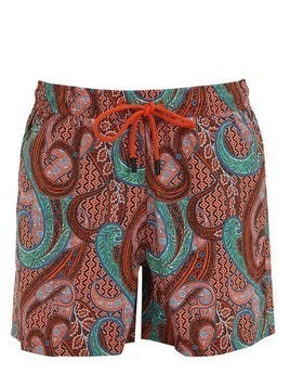 PRINTED PAISLEY BATHING SUIT
